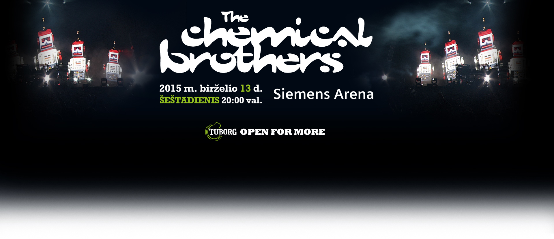 THE CHEMICAL BROTHERS live!